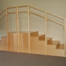 Steps and railing